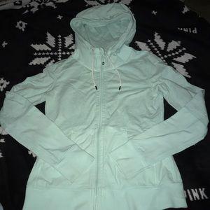 Lululemon Mint Zip-up hoodie